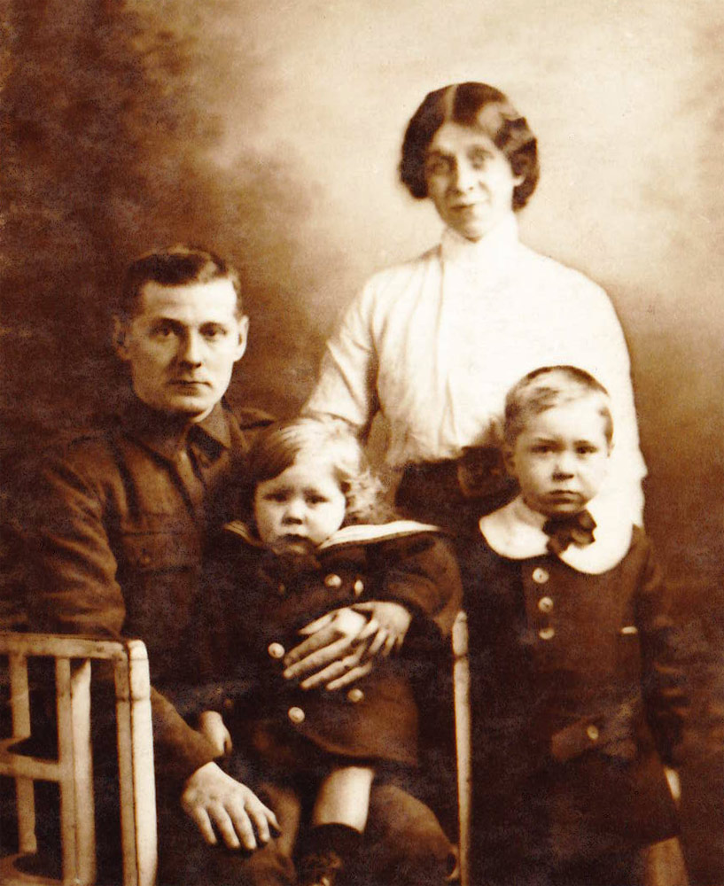 L/Cpl. William Wishart & Family